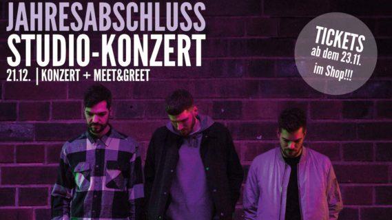 JAHRESABSCHLUSS // STUDIO-KONZERT